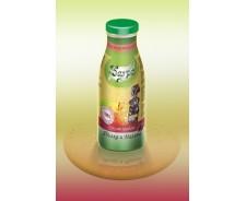 100% cold-pressed apple and raspberry juice - 0,250 ml